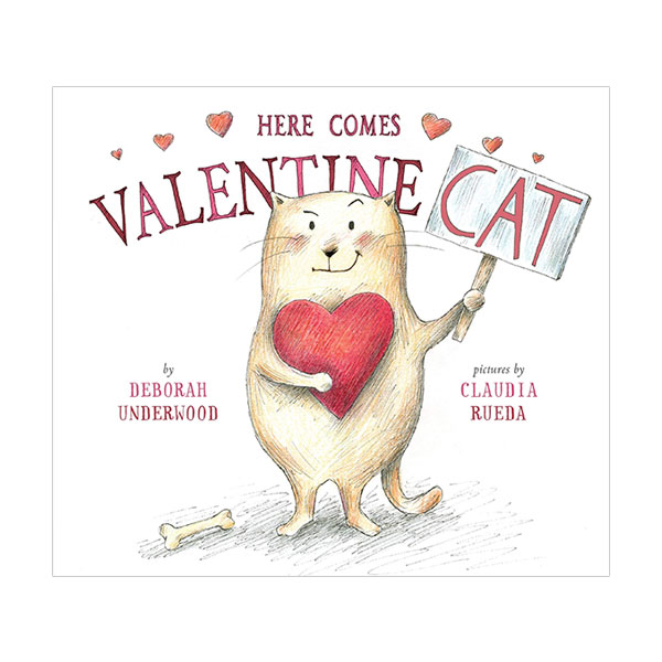 RL 1.4 : Here Comes Valentine Cat (Hardcover)