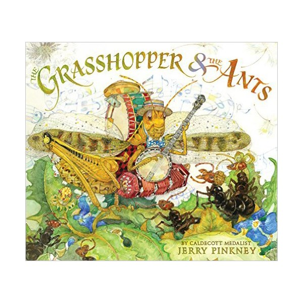 RL 1.4 : The Grasshopper & the Ants (Hardcover)