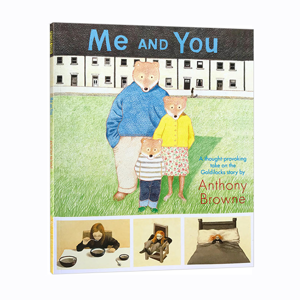 RL 1.6 : Anthony Browne : Me and You (Paperback)