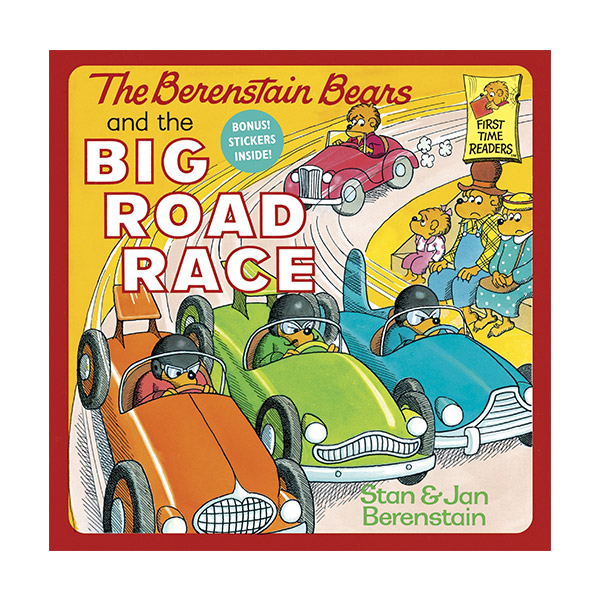 RL 1.7 : Berenstain Bears and the Big Road Race [Paperback]