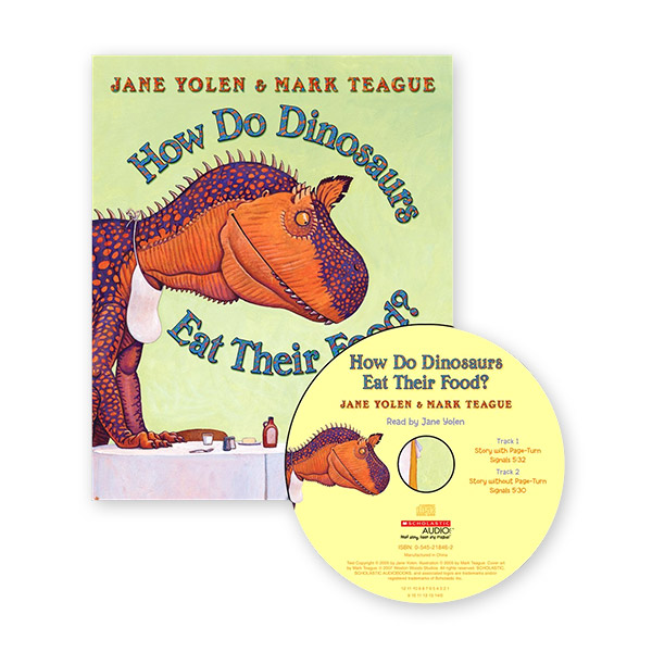 RL 1.7 : How Do Dinosaurs Eat Their Food? (Book & CD)