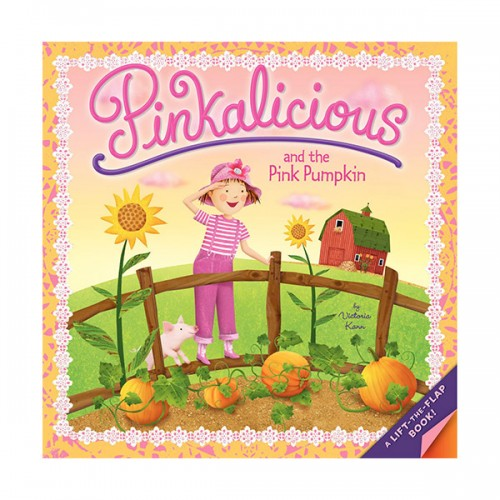 RL 1.9 : Pinkalicious and the Pink Pumpkin : A Lift the Flap Book (Paperback)