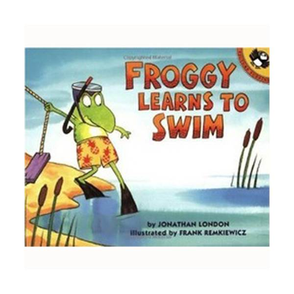 Froggy Learns to Swim (Paperback)