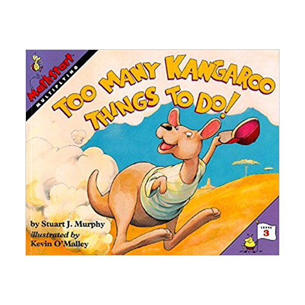 RL 2.0 : Mathstart Level 3 : Too Many Kangaroo Things to Do! (Paperback)
