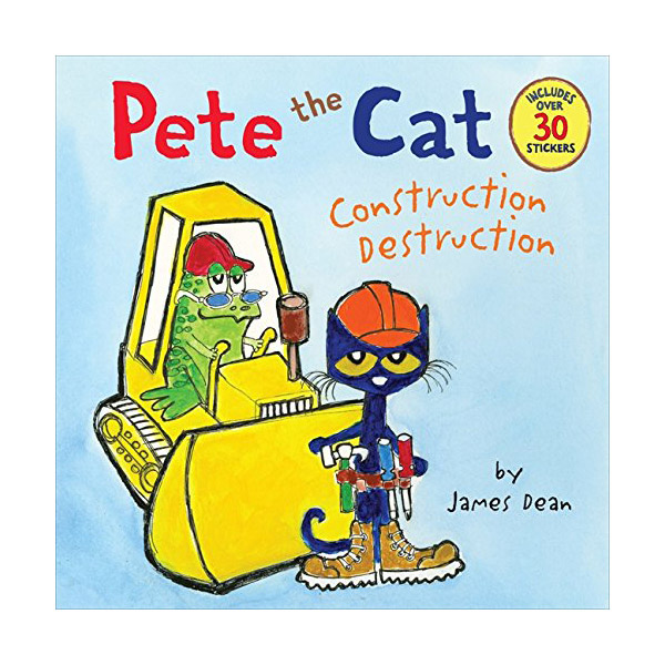 RL 2.0 : Pete the Cat : Construction Destruction (Paperback)