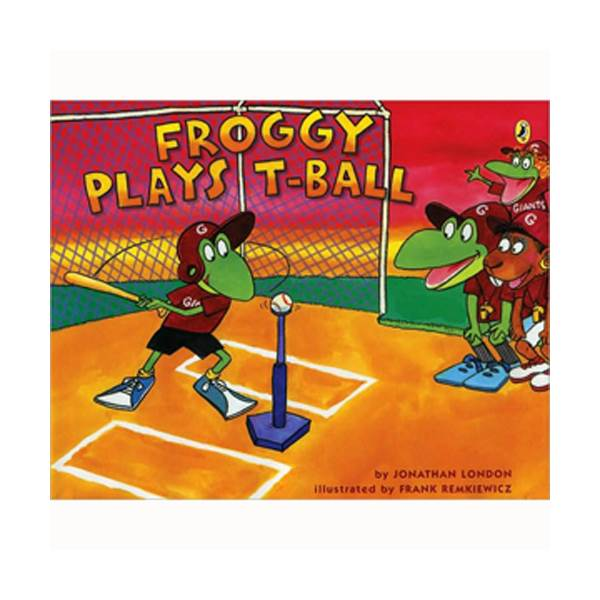 Froggy Plays T-ball (Paperback)