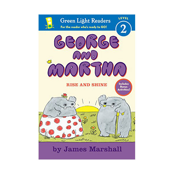 RL 2.1 : Green Light Readers Level 2 : George and Martha : Rise and Shine (Paperback)