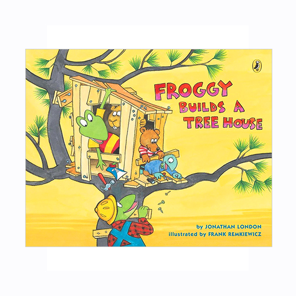 Froggy Builds a Tree House (Paperback)