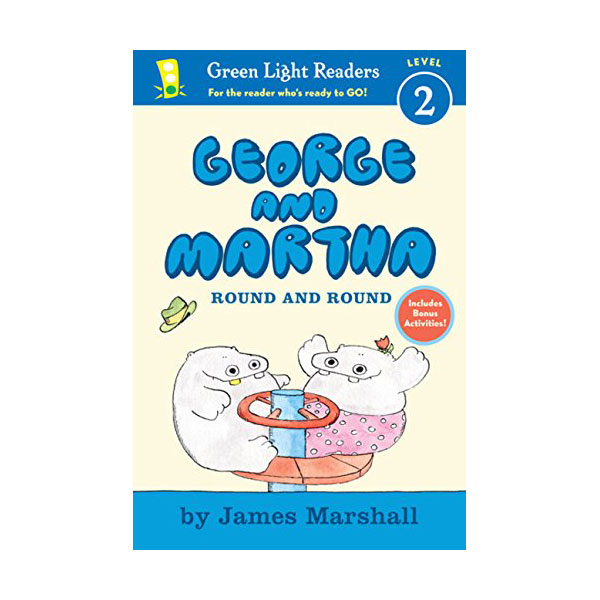 RL 2.2 : Green Light Readers Level 2 : George and Martha : Round and round (Paperback)