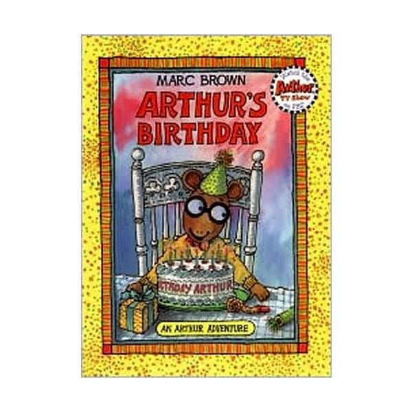 RL 2.3 : Arthur Adventures Series: Arthur's Birthday (Paperback)