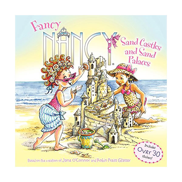 RL 2.3 : Fancy Nancy : Sand Castles and Sand Palaces (Paperback)