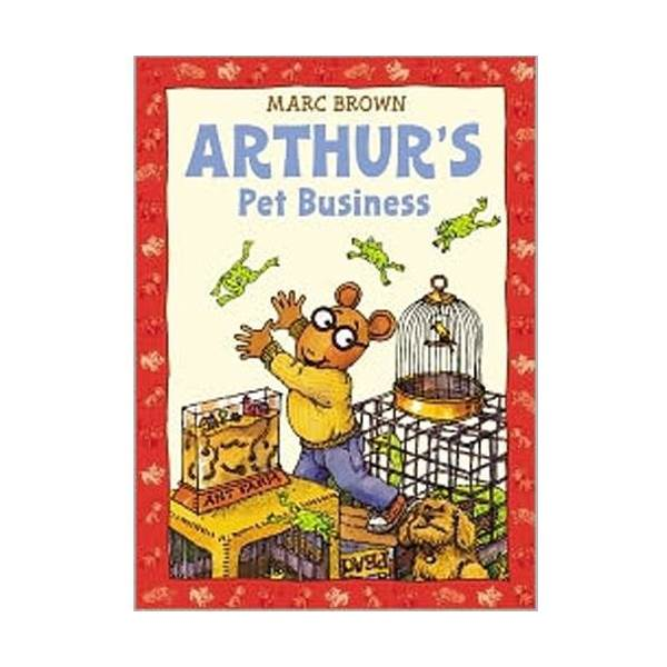 RL 2.4 : Arthur Adventures Series: Arthur's Pet Business (Paperback)