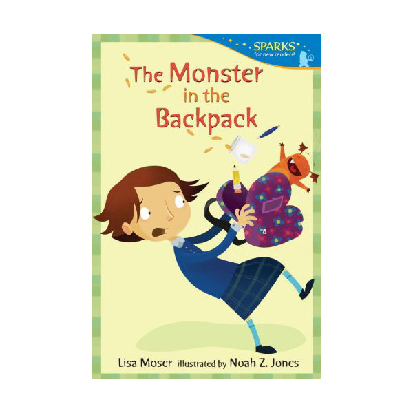 Candlewick Sparks : The Monster in the Backpack (Paperback)
