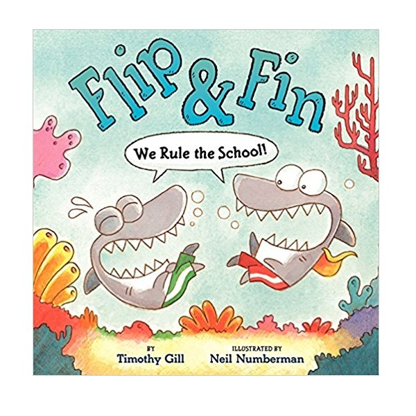 [가격인하] RL 2.4 : Flip & Fin: We Rule the School! (Hardcover)