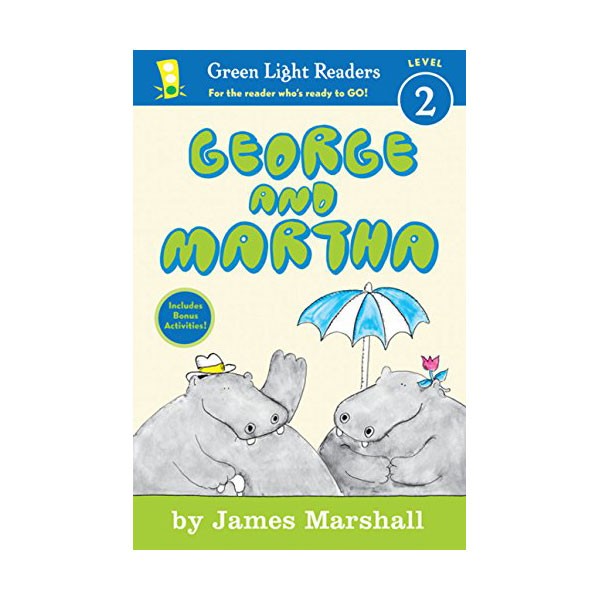 RL 2.4 : Green Light Readers Level 2 : George and Martha (Paperback)