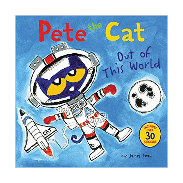 RL 2.4 : Pete the Cat : Out of This World (Paperback)
