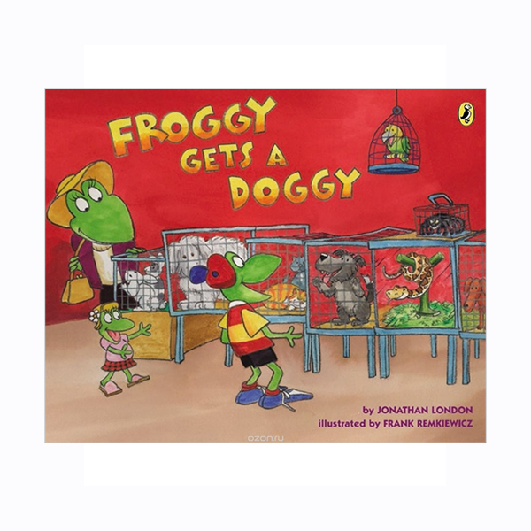 Froggy Gets a Doggy (Paperback)