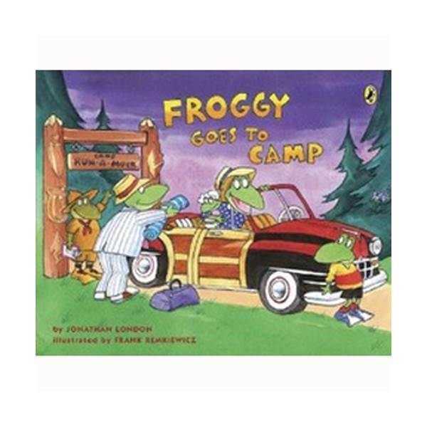 Froggy Goes to Camp (Paperback)