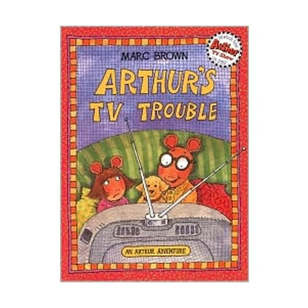 RL 2.6 : Arthur Adventures Series: Arthur's TV Trouble (Paperback)