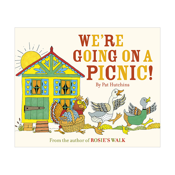 We're Going on a Picnic : 소풍 가자, 소풍! (Paperback,영국판)