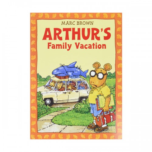 RL 2.7 : Arthur Adventures Series: Arthur's Family Vacation (Paperback)
