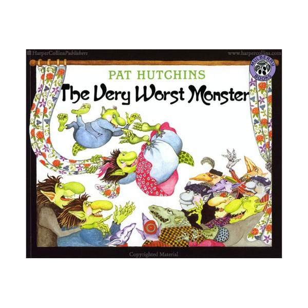 Pat Hutchins : The Very Worst Monster (Paperback)