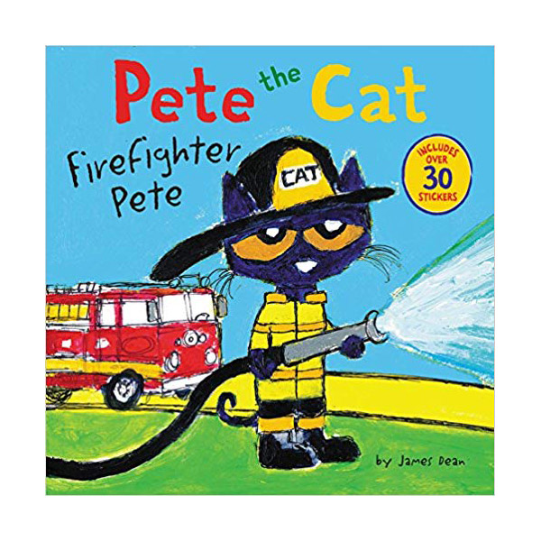 RL 2.7 : Pete the Cat : Firefighter Pete (Paperback)