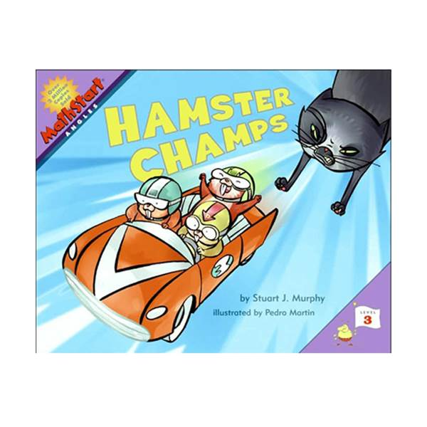 MathStart 3 : Hamster Champs: Angles (Paperback)