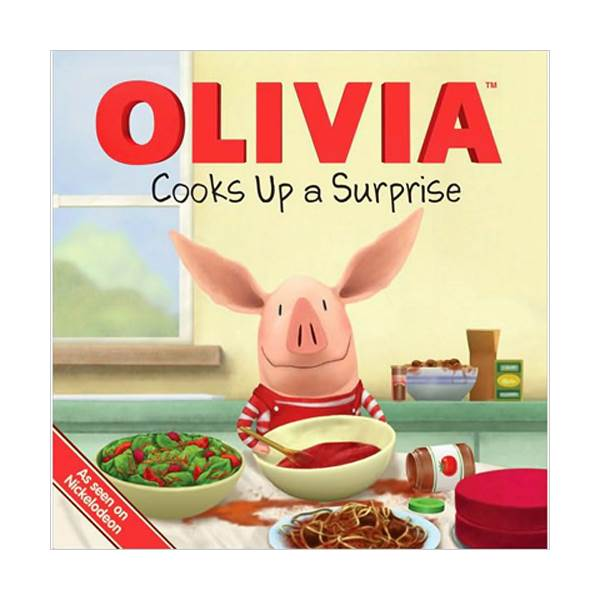 Olivia Cooks Up a Surprise (Paperback, Movie Tie-In)