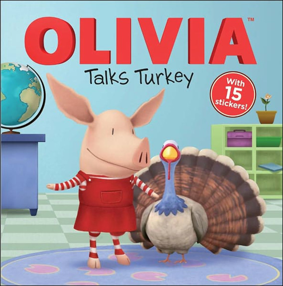 RL 2.8 : Olivia Talks Turkey (Paperback)