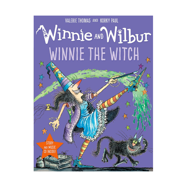 Winnie and Wilbur : Winnie the Witch (Book & CD, 영국판)