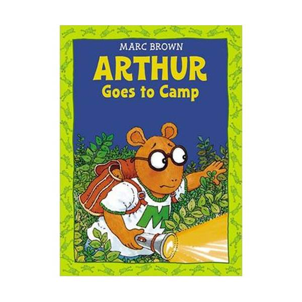 RL 2.9 : Arthur Adventures Series : Arthur Goes to Camp (Paperback)