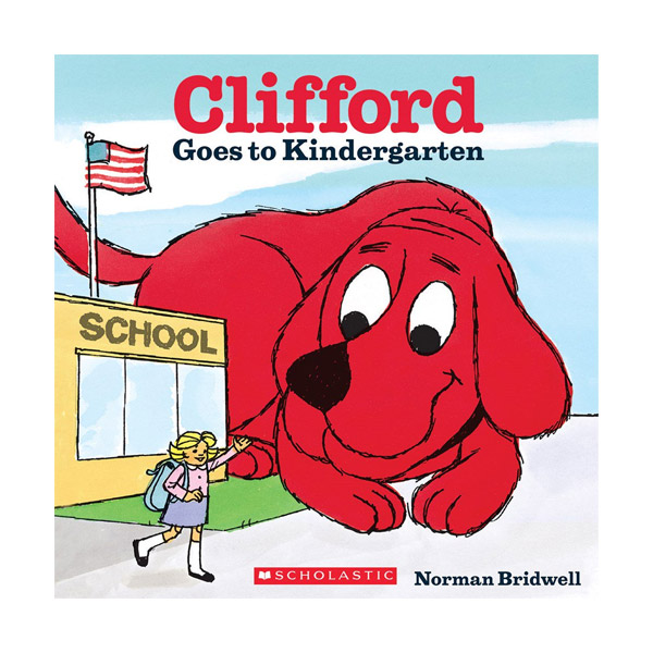 RL 2.9 : Clifford Goes to Kindergarten (Paperback)
