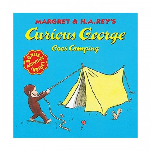 RL 2.9 : Curious George Series : Curious George Goes Camping (Paperback)