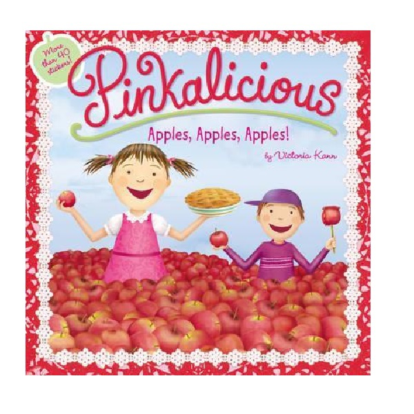 RL 2.9 : Pinkalicious: Apples, Apples, Apples! (Paperback)