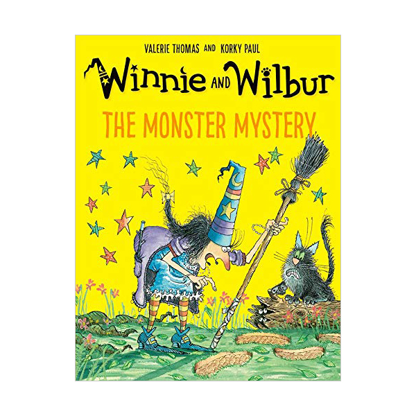 Winnie and Wilbur : The Monster Mystery (Paperback, 영국판)