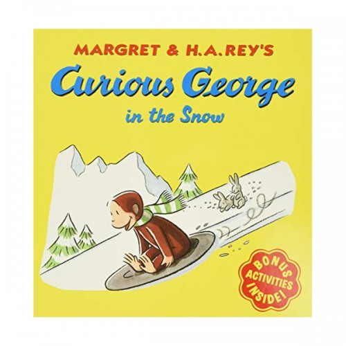 RL 3.0 : Curious George Series : Curious George in the Snow (Paperback)