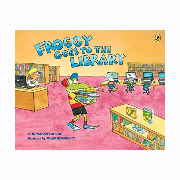 Froggy Goes to the Library (Paperback)