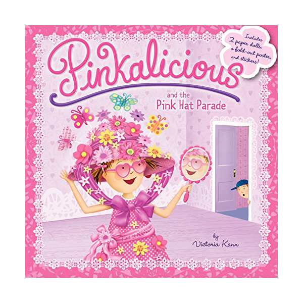 RL 3.0 : Pinkalicious : and the Pink Hat Parade (Paperback)