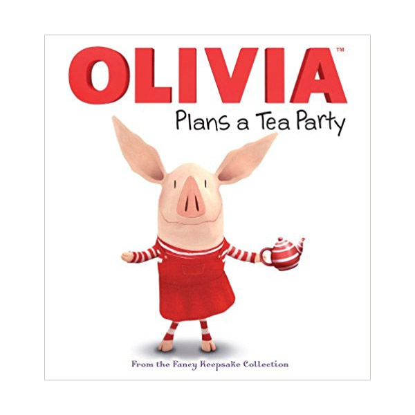 RL 3.1 : Olivia Plans a Tea Party (Hardcover)