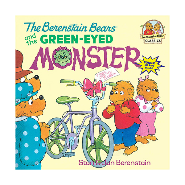 RL 3.2 : The Berenstain Bears and the Green-Eyed Monster (Paperback)