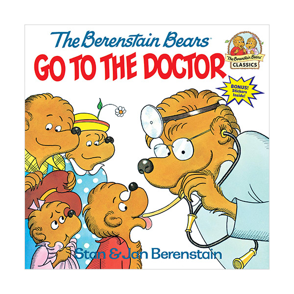 RL 3.2 : The Berenstain Bears Go to the Doctor (Paperback)