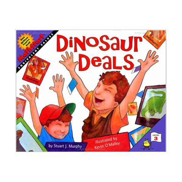 MathStart Level 3 : Dinosaur Deals: Equivalent Values (Paperback)