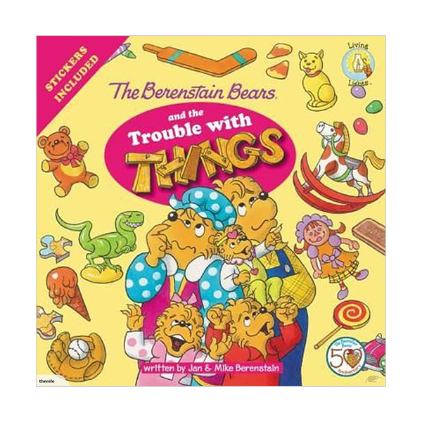 RL 3.3 : The Berenstain Bears and the Trouble with Things (Paperback)