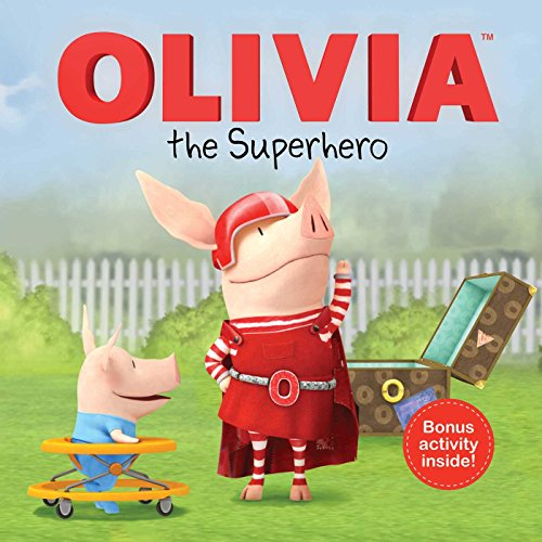 RL 3.4 : OLIVIA the Superhero (Paperback, TV Tie-in)