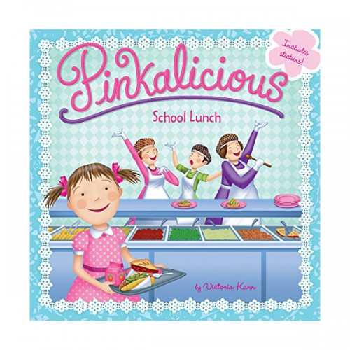 RL 3.4 : Pinkalicious : School Lunch (Paperback)