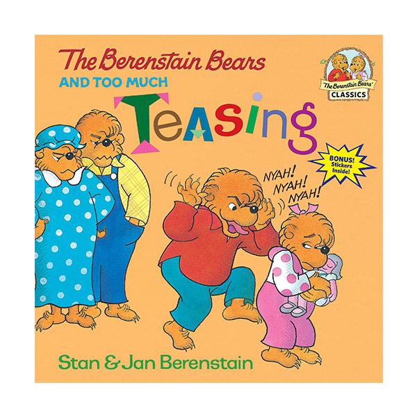 RL 3.4 : The Berenstain Bears and Too Much Teasing (Paperback)