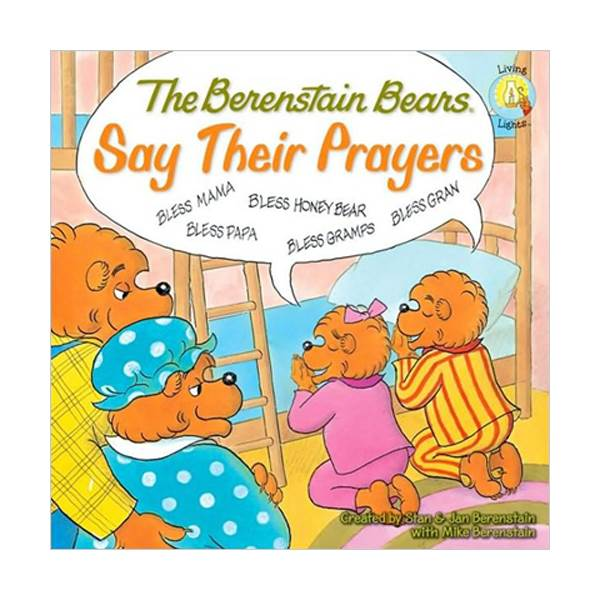 RL 3.4 : The Berenstain Bears Say Their Prayers (Paperback)