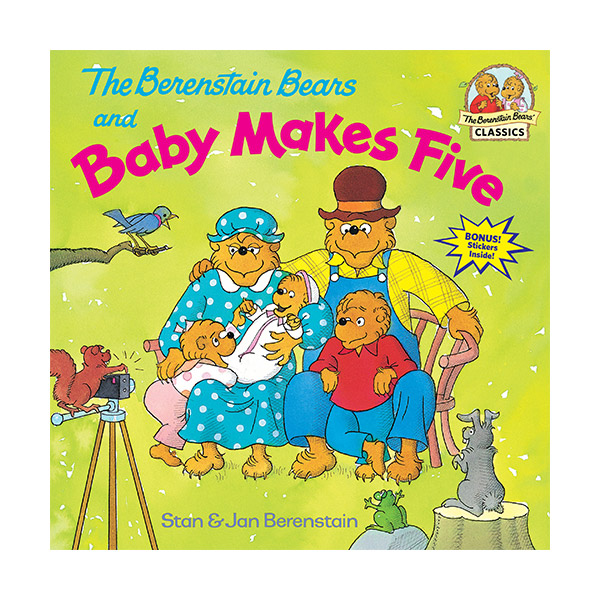 RL 3.5 : Berenstain Bears and Baby Makes Five [Paperback]