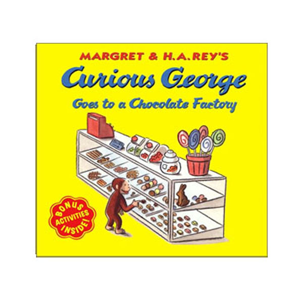 RL 3.5 : Curious George Series : Curious George Goes to a Chocolate Factory (Paperback)